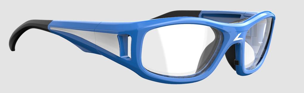 Vue 3/4 de la lunette de protection Leader pour Hilco.
