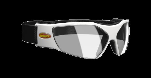 Vue 3/4 de la lunette de protection Bangerz.